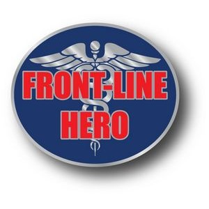 Stock COVID-19 Front-Line Hero Lapel Pins