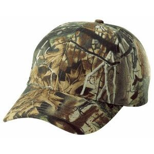 6 Panel Structured Brushed Cotton Superflauge Game Camo