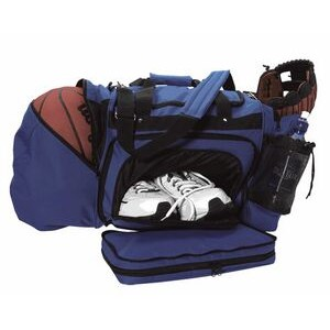 Ball Bag w/ Detachable Front Compartment