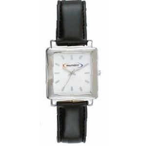 Men's Pedre Square Watch (White Dial)