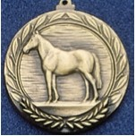 "2.5"" Stock Cast Medallion (Thoroughbred Horse)"