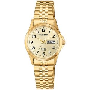 Citizen® Ladies Quartz Expansion Band Watch - Stainless Steel, Gold-Tone