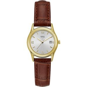 TFX Women's Brown Strap Watch