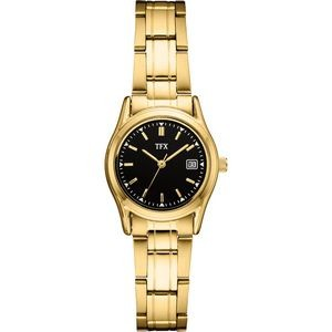TFX Women's Gold Bracelet Watch